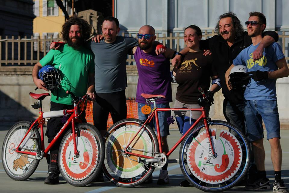 bike polo vercelli con manolli